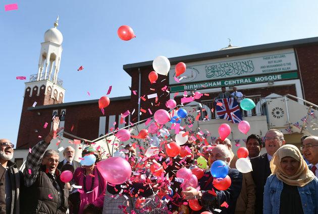 Birmingham Mosque Tea Party